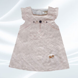 پیراهن طرح پولک نوزادی دخترانه