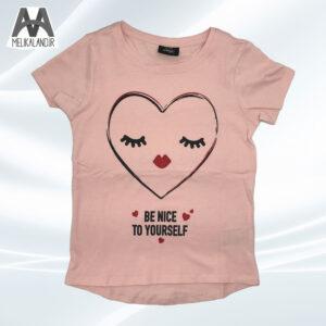 تی شرت دخترانه قلب